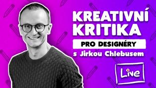 Vizuální styly a logo s Jirkou Chlebusem, kreativní kritika