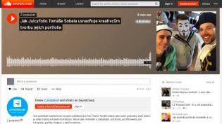 Rozhovor Tomáše Sobela pro podcast Freelo Z podpalubí o JuicyFoliu a kreativní práci